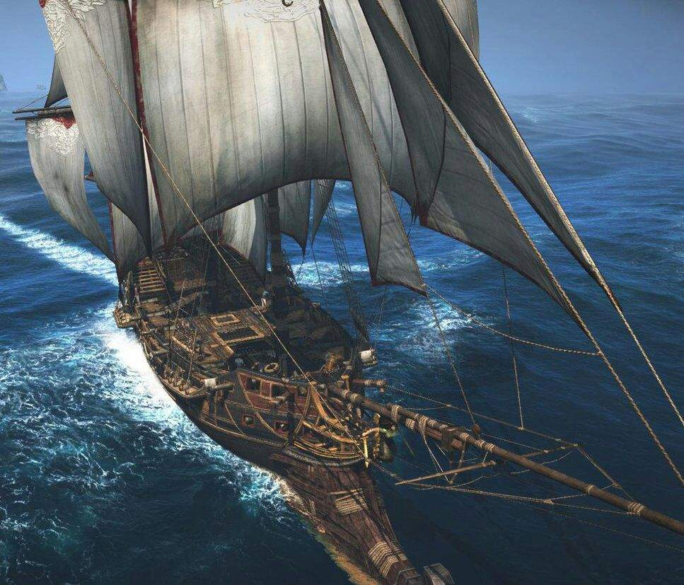 los barcos de Piratas del Caribe