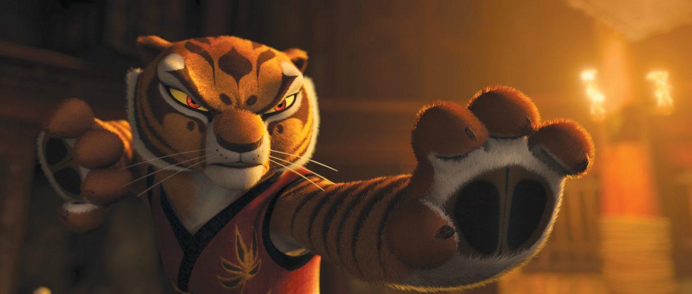 Tigresa de kung fu panda