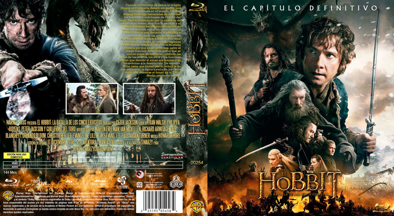 el hobbit la batalla de los cinco ejércitos
