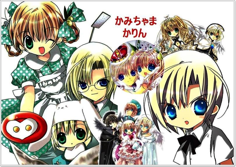 kamichama karin argumento manga anime personajes y m225s