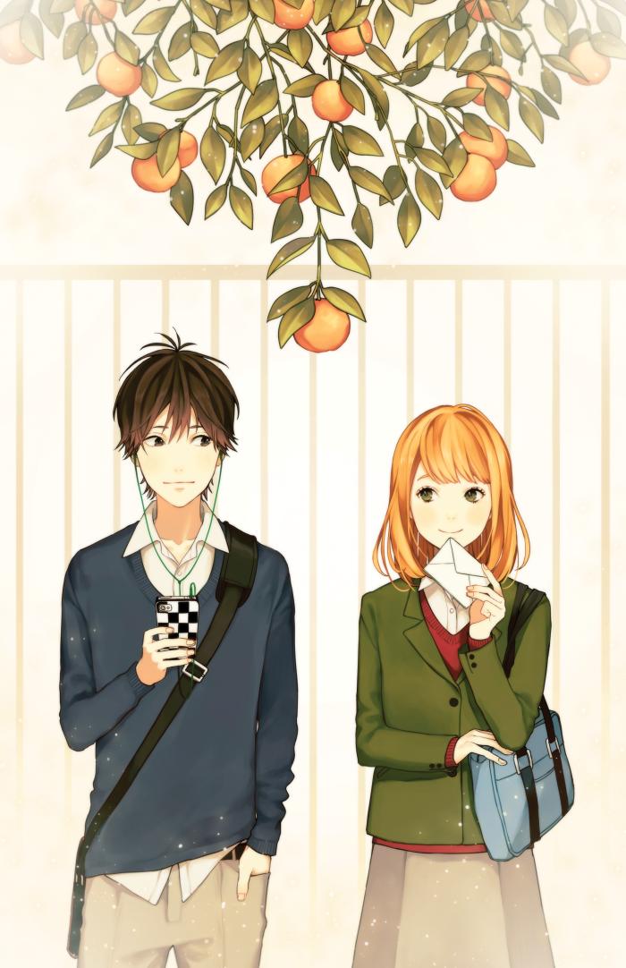 a anime Orange