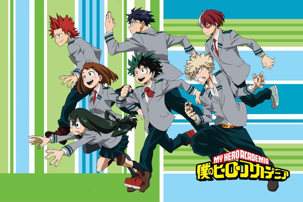 Boku No Hero Academia Sinopsis Historia Manga Anime Y