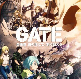 Gate: sinopsis, manga, novela ligera, anime y más