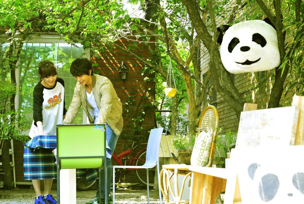 Miss Panda and Mr Hedgehog