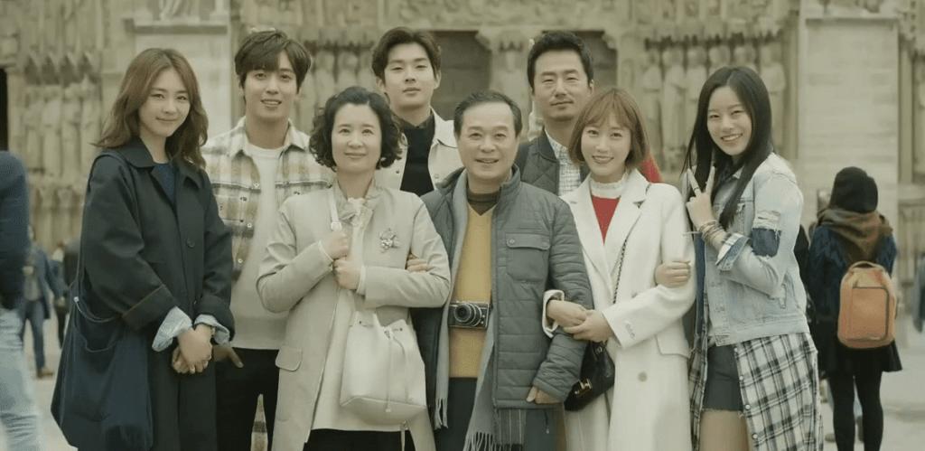 los 7 integrantes del grupo turistico