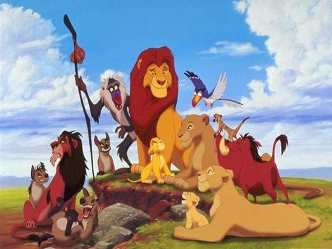 Personajes del rey leon