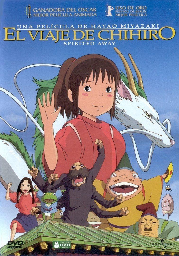 El Viaje De Chihiro Director Personajes Libro Doblaje Y Más