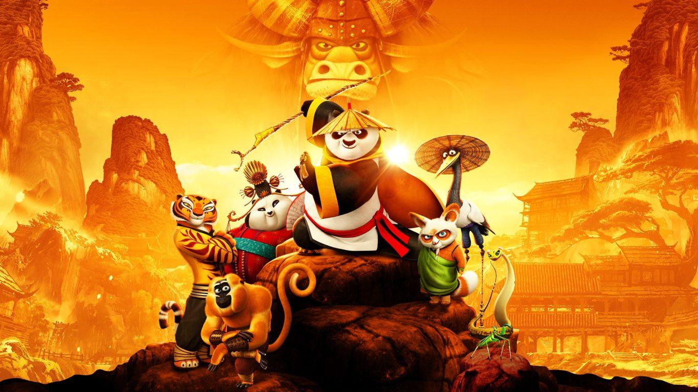 Grulla de kung fu panda