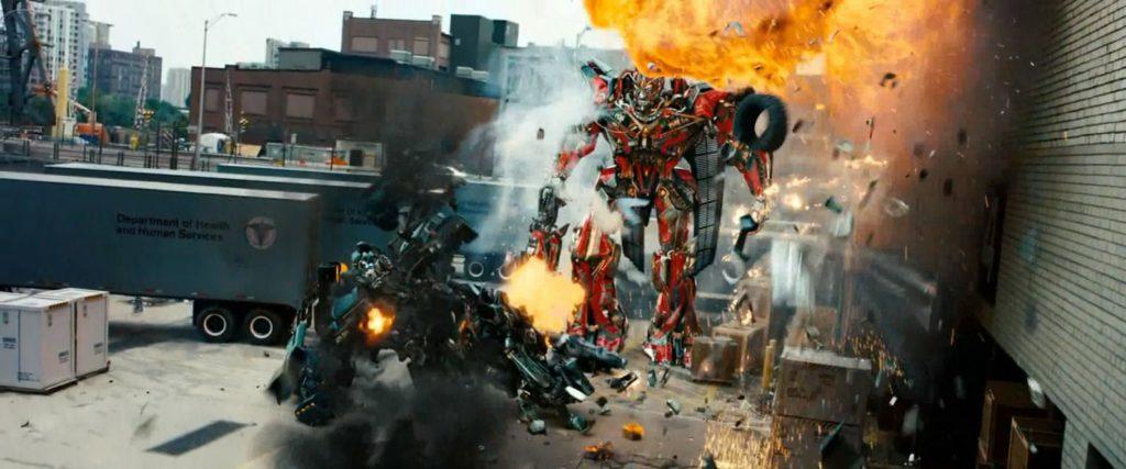 Transformer Sentinel y Ironhide