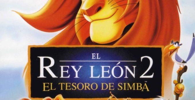 el rey leon 2: portada