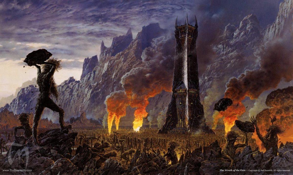 el señor de los anillos el retorno del rey: isengar
