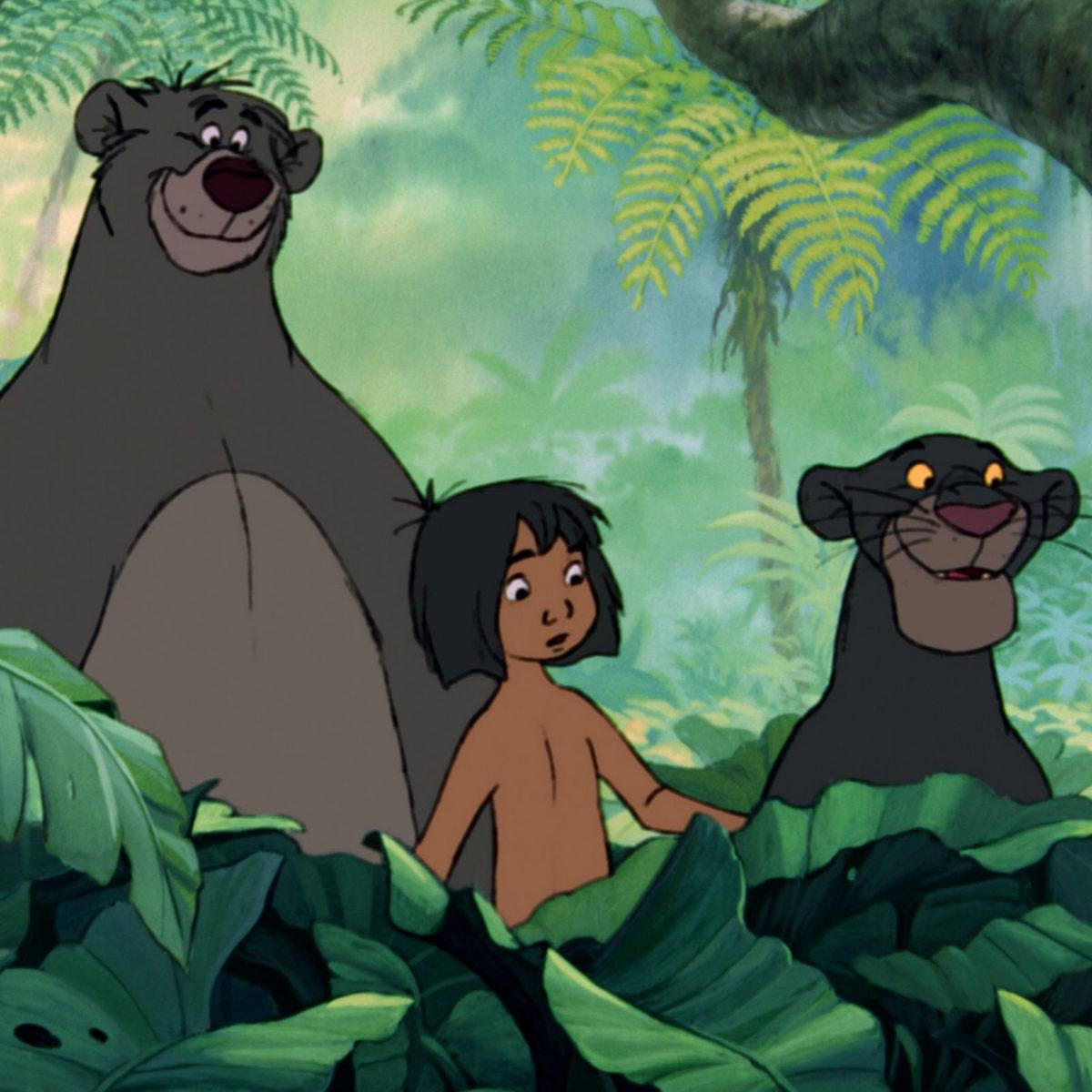 oso balo: bagheera y baloo