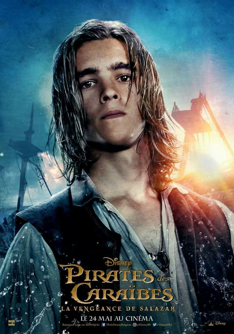 piratas del caribe 5: henry turner