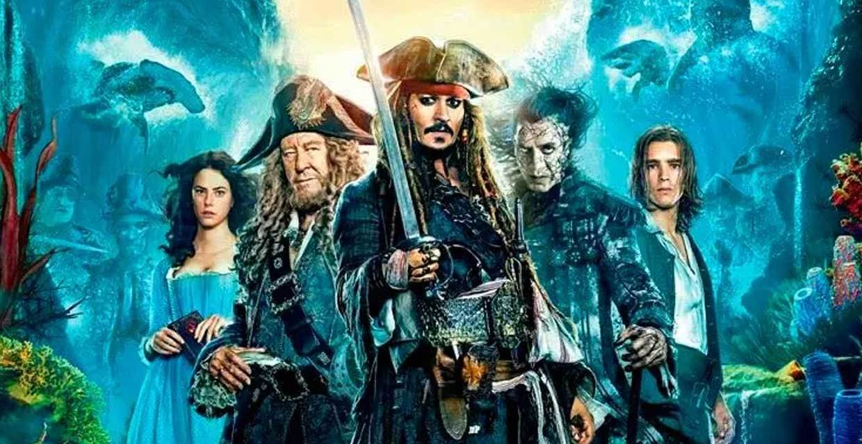 piratas del caribe 5: portada