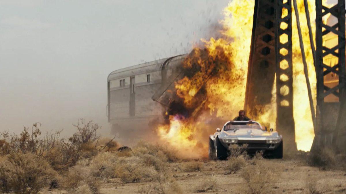 rapido y furiosos 5: tren