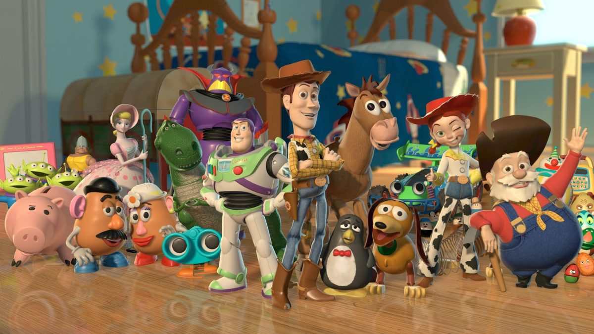toy story 2: personajes