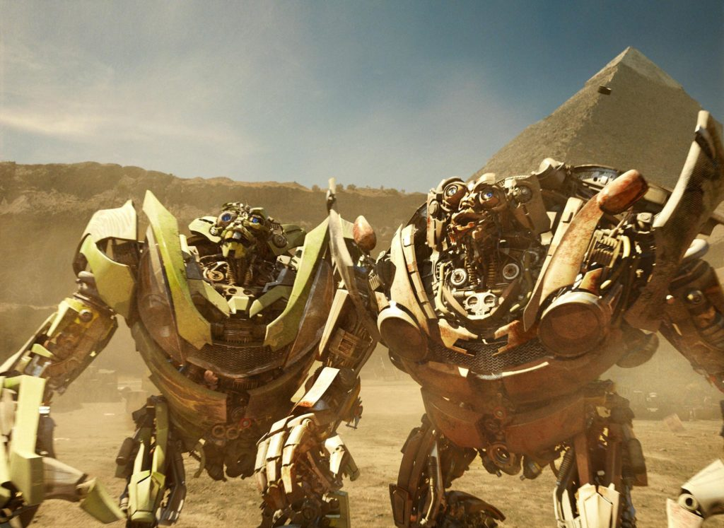 transformers 2: Mudflap y Skids
