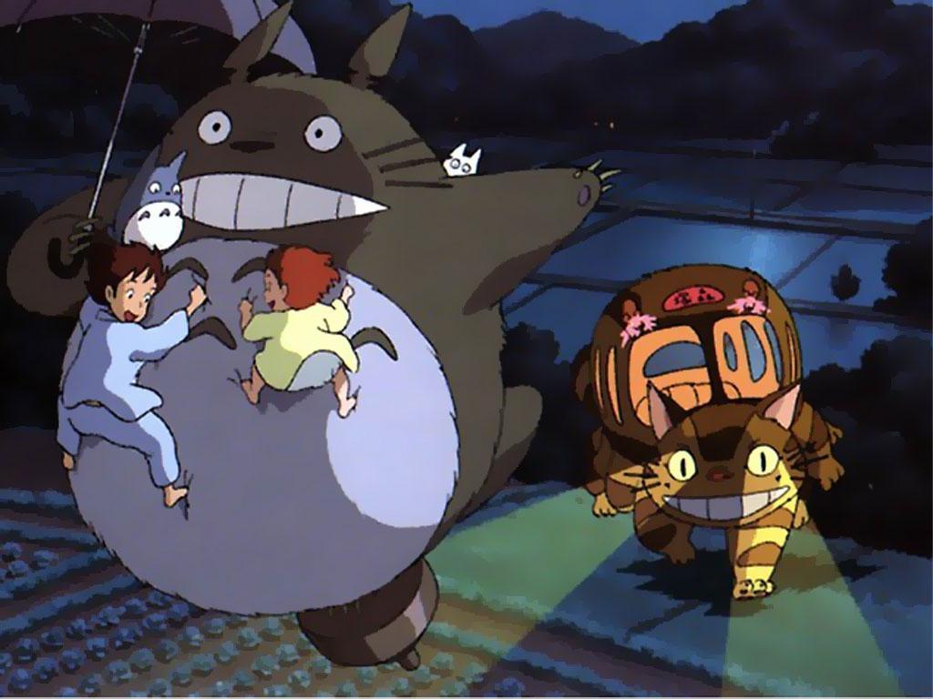 Mi vecino Totoro: feliz