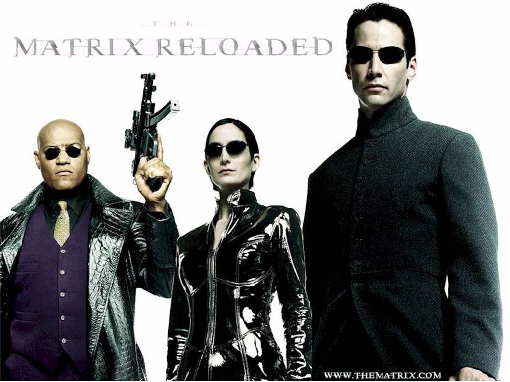 matrix reloaded: portada