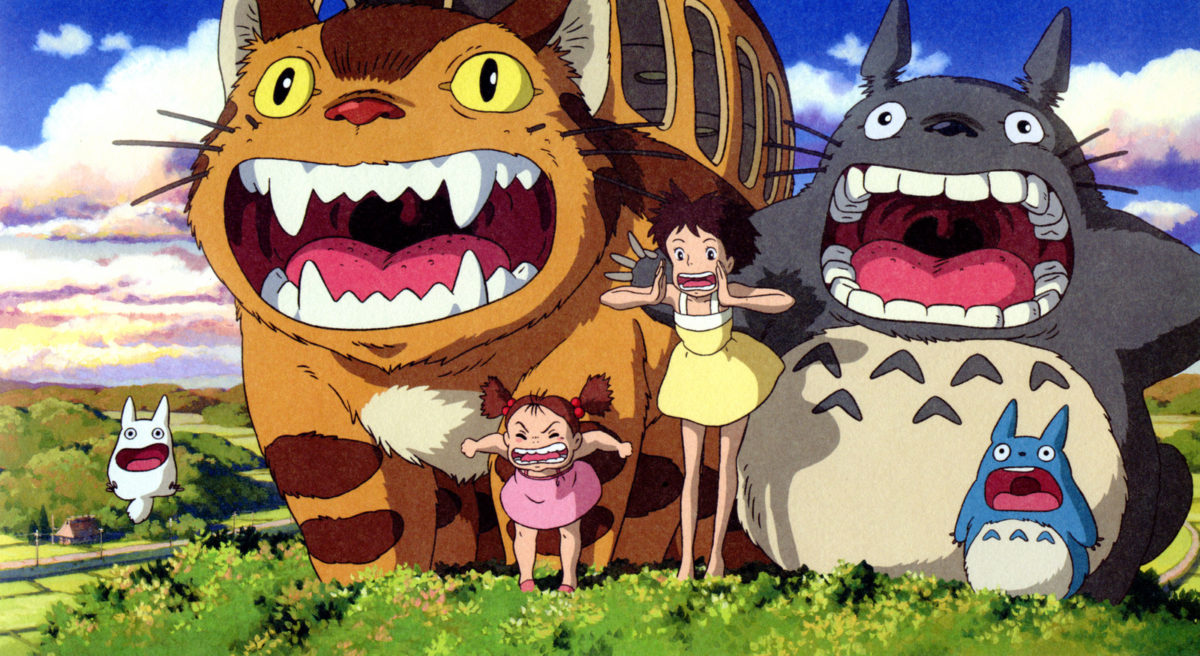 mi vecino totoro: personajes