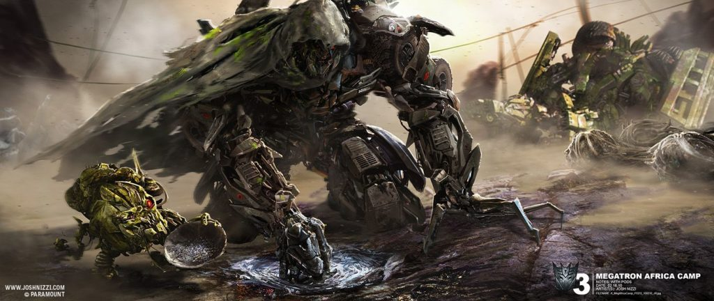 transformers 3: megatron