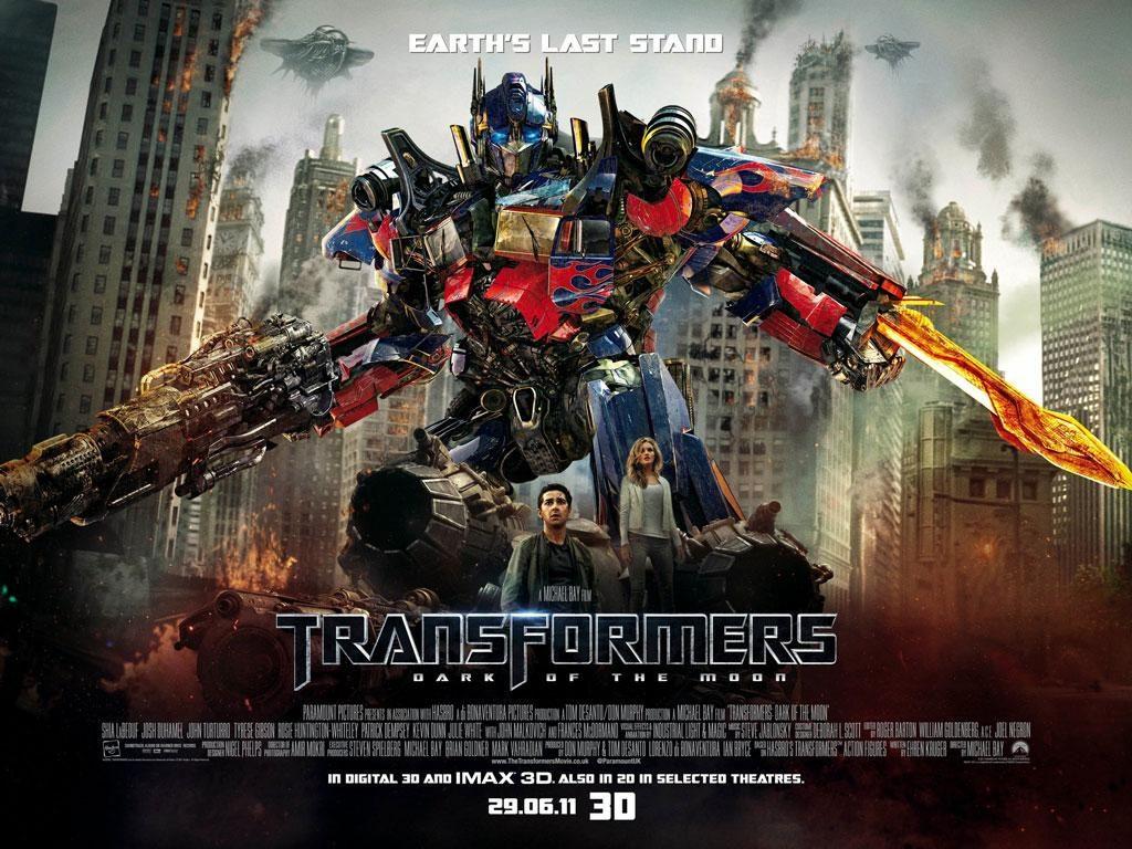 transformers 3: portada