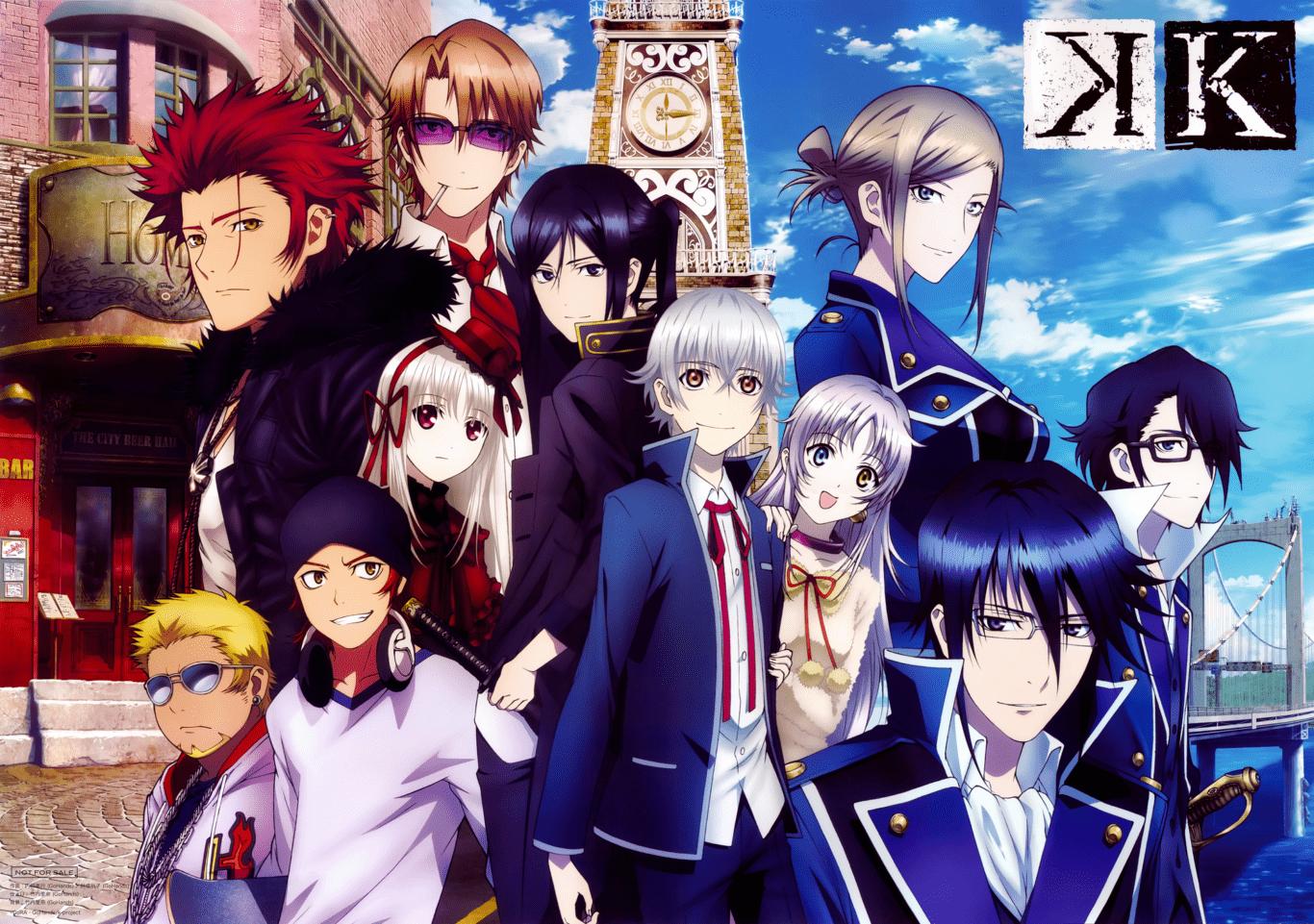 K Project: argumento, managa, anime, personajes y mucho más