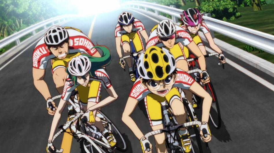 Yowamushi-pedal anime 2