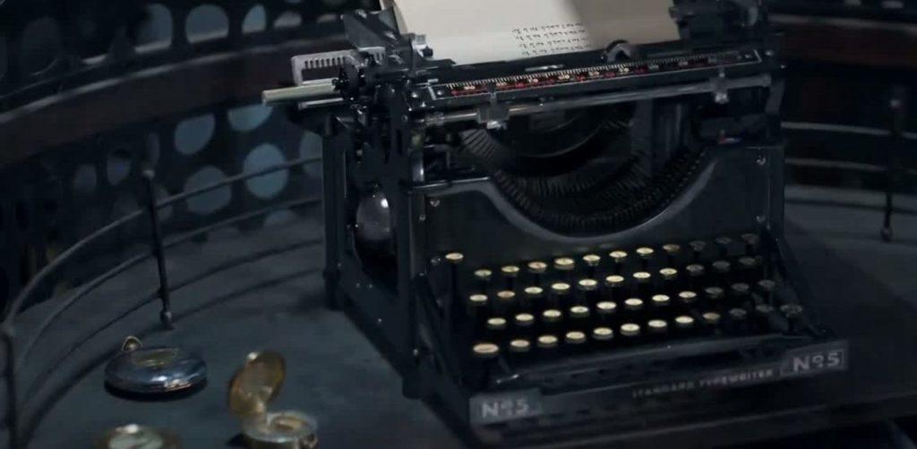 máquina de escribir de Chicago typewriter