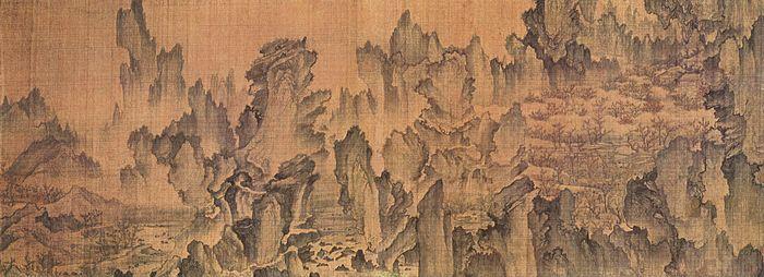 pintura Monte Geumgang
